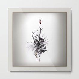 Starry Vacuum (combinación ganadora) Metal Print