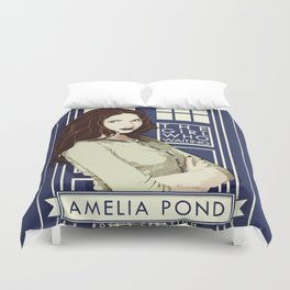 Amelia Pond Duvet Cover