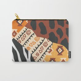 African tribe Patterns Carry-All Pouch