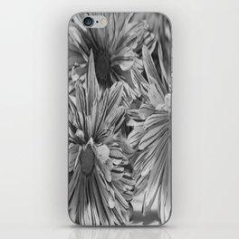 Flowers shadows iPhone Skin