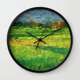 Division Landscape Wall Clock