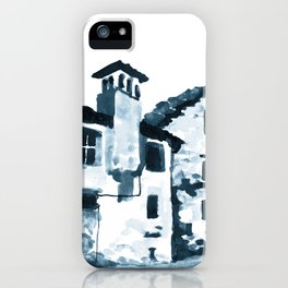Walking Down The Street iPhone Case