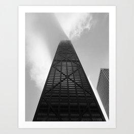 The John Hancock Tower Art Print