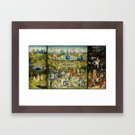 Hieronymus Bosch The Garden Of Earthly Delights Framed Art Print