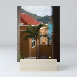 Palm Tree in the Breeze - Sint Maarten Mini Art Print
