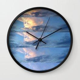sunset progression Wall Clock