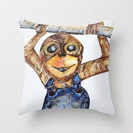 A Sassy Mounkay Throw Pillow