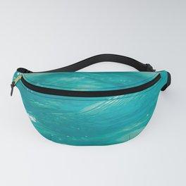 Aqua Waves Fanny Pack