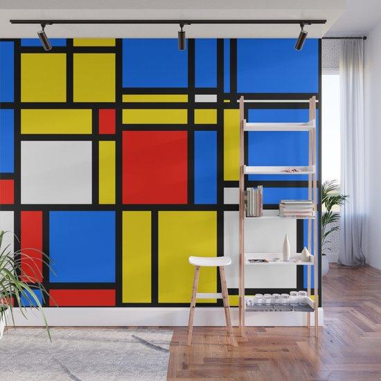 Mondrian Style by kaleiopestudioleggings