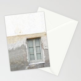 Grunge Window Stationery Cards