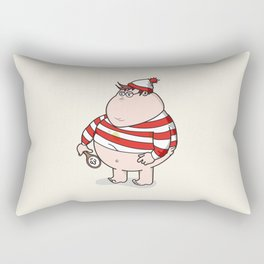 Where's Willy? Rectangular Pillow