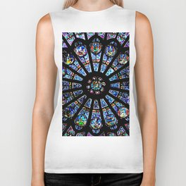 Cathedral Stained Glass Biker Tank