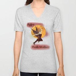 FAERIE GOTH MOTHER - 033 Unisex V-Neck
