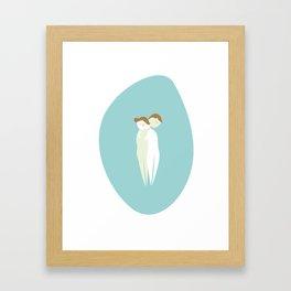 Calin Framed Art Print