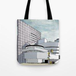 Salomon R. Guggenheim Museum, New York City Tote Bag