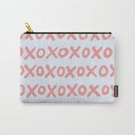 Tic Tac Toe (XOXO) Carry-All Pouch