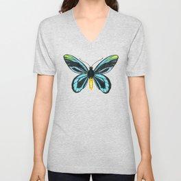 Queen Alexandra' s birdwing butterfly Unisex V-Neck