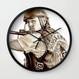Sons of Anarchy (JAX TELLER fanart) Wall Clock