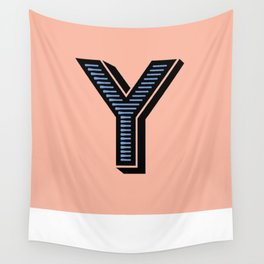 Letter Y Wall Tapestry