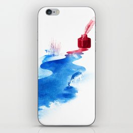 The drama of causality iPhone Skin