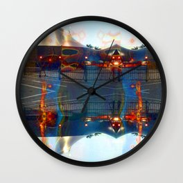 Akin to recalling, instead; understood mimicry. [extra] Wall Clock