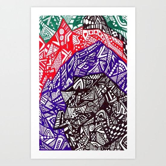 Shell out Art Print