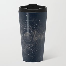 Star Map Satellites Travel Mug