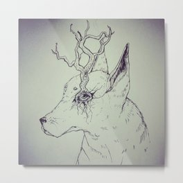 El Dog Metal Print