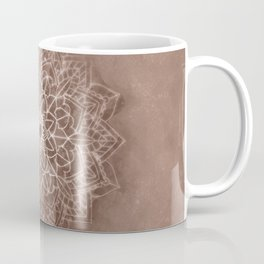 Chic Watercolor Beige Mandala Coffee Mug