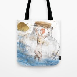 Love Message Tote Bag