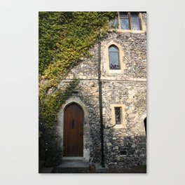 Canterbury Cathedral Canvas Print
