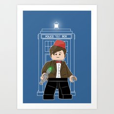 The Doctor (Lego Doctor Who) Art Print
