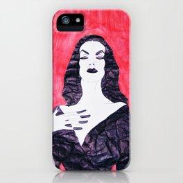 Mortisia iPhone Case
