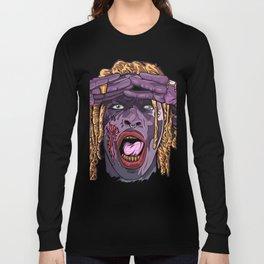 YOUNG THUG-ZOMBIE Art Long Sleeve T-shirt