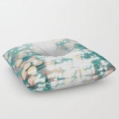 Sun glitter - golden light Floor Pillow