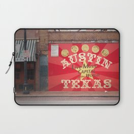 Live Music Capital of the World Laptop Sleeve