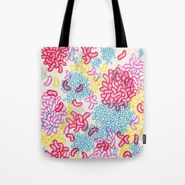 Party Painting Tote Bag