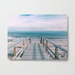 OCEAN BEACH | FIRE ISLAND | NEW YORK Metal Print