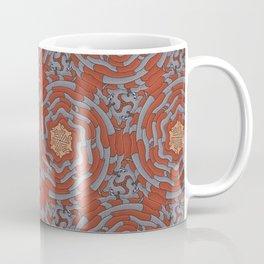 Sock Puppet Tessellation Coffee Mug