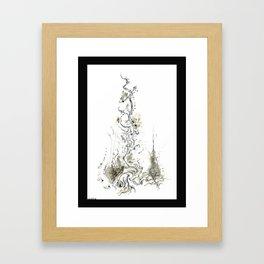 Obelisk Root Framed Art Print