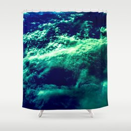 Eerie Waters Of The Bermuda Triangle Shower Curtain