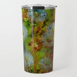 Concept abstract : Dandelion / Pusteblume Travel Mug