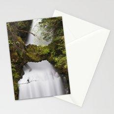 Curly Falls, Washington Stationery Cards