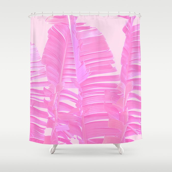 Pink Whisper Shower Curtain