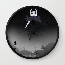 Hollow Knight in the Abyss Wall Clock