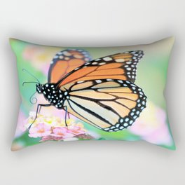 October Monarch Rectangular Pillow