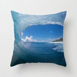 The Sea Eye Throw Pillow
