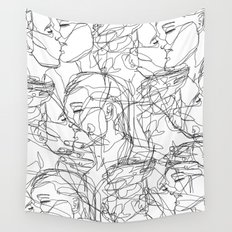 Love on Repeat Wall Tapestry