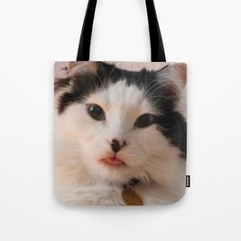 The Oreo Cat: Blep Tote Bag