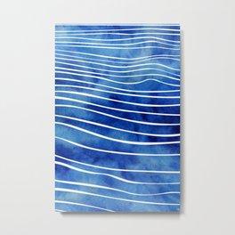 Tide XI Metal Print